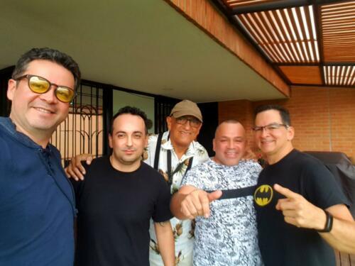 Maestro Piña, Vladimir Hurtado, Johnny Pavas, Fernando Gonzalez