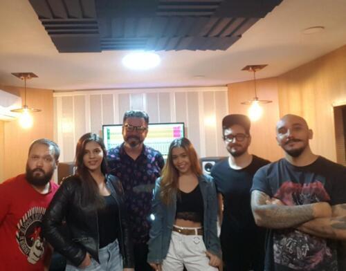 Roberto Restrepo, Sofi Torres, Isabella Osorio, Julian Zapata Camilo Patiño