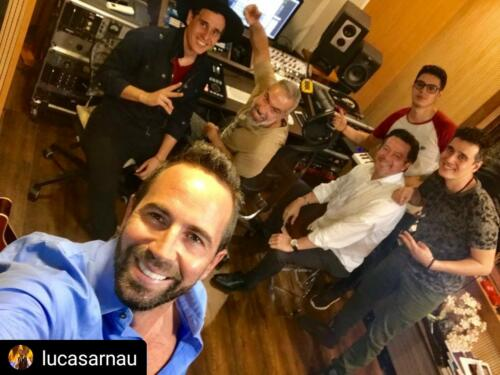 Lucas Arnau, Toby Tobon, Villegas music, Sebastian Molina, Jairo Alberto Sanz