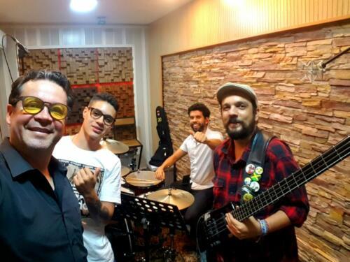 Leon Velez, Carlos Cano, Sebastian Molina, Jairo Alberto Sanz