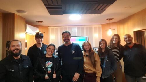 Louders, Laura Azul, Camilo Patiño, Roberto Restrepo